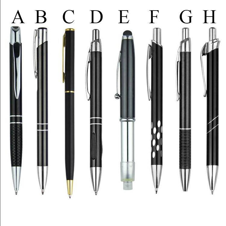 Promos Product Metal Ballpoint Pens,Promotional Metal pen, Metal ball pen