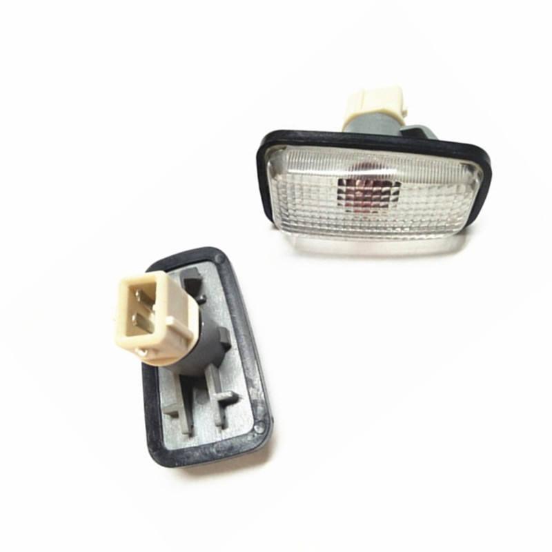 2Pcs 55W Side Marker Indicator Light Bulb Repeater Lamp For Peugeot 106 306 406