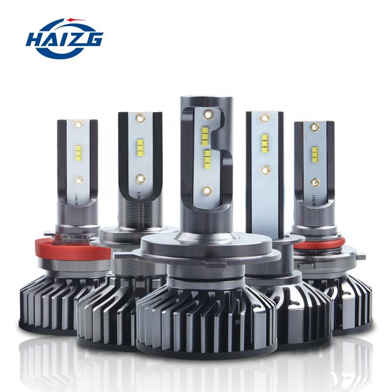 F2 h4H1 H3 H11 LED car headlight f2 ZES auto led head lighting system car part F2 headlight