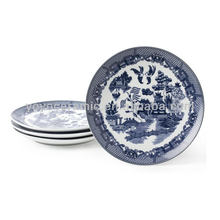 Blue and White Porcelain Dessert Dish
