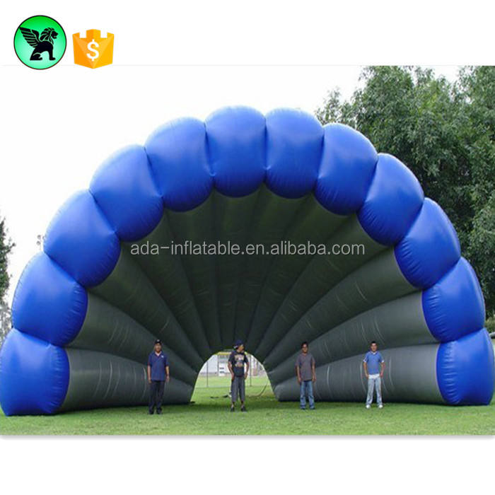 Giant Event Stage Cover Tent Customized Wall Inflatable Decoration Shell / Sea Shell A485