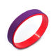 Promotion Custom Wristband Newest Two Color Silicone Bracelet For Women