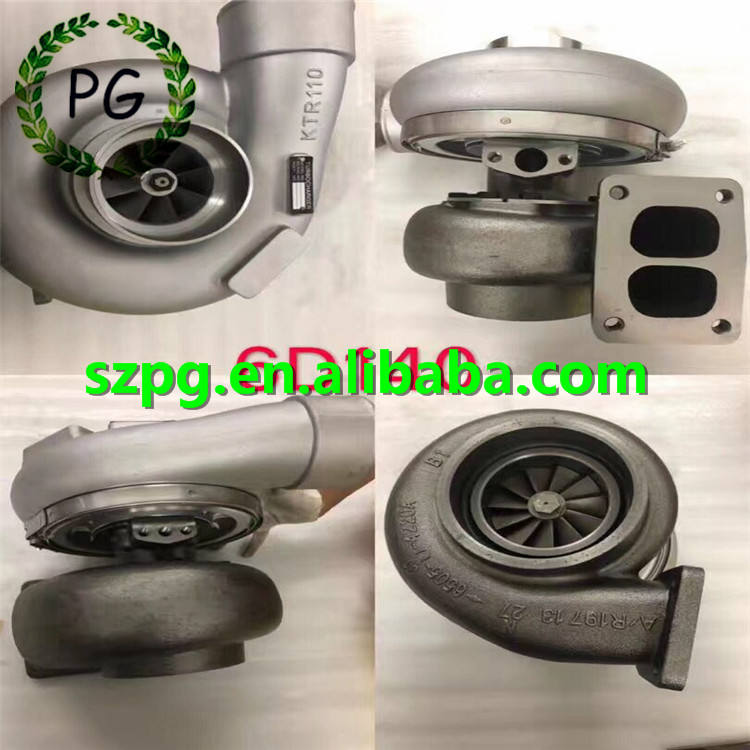 6D140 KTR110 Turbocharger 6505-52-5410 Turbo for Komatsu Engine