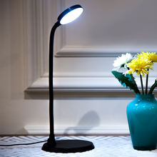 ZHEJIANG NINGBO CE ROHS ABS Material stepless dimmable 220v 3w USB Led study table lamp for sale