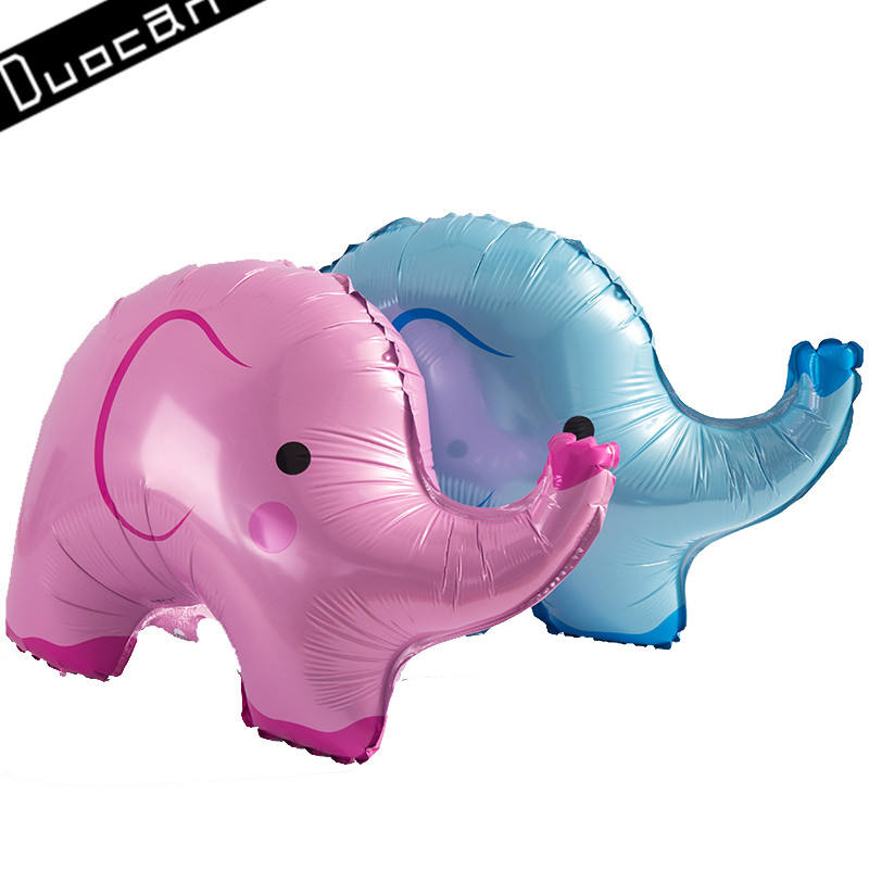 high quality wholesale inflatable elephant helium foil balloon
