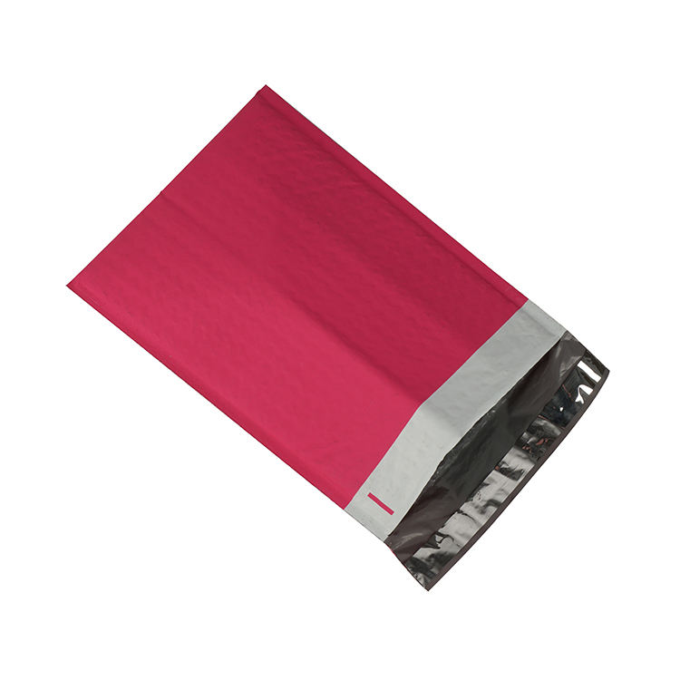 Custom Printed Mailing Mail Mini Envelopes A4 Wholesale Pink Poly Envelope Bag Bubble Padded Plastic Bags