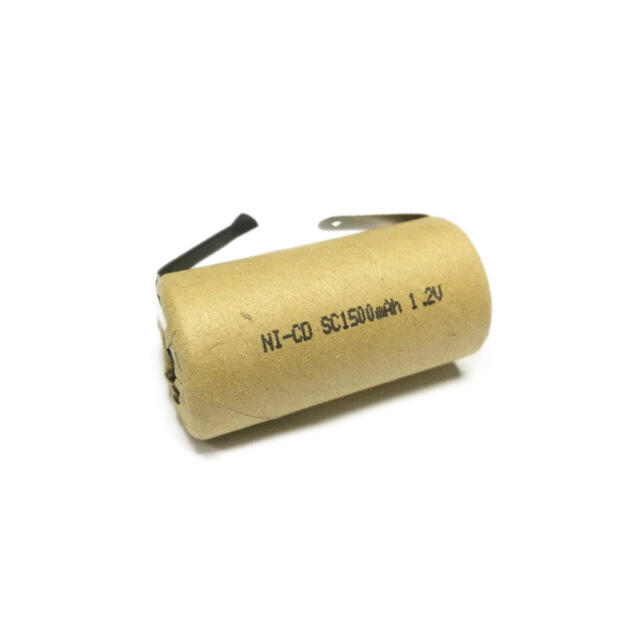 NiCD 1.2v SC 1500mAh rechargeable electric power tool battery