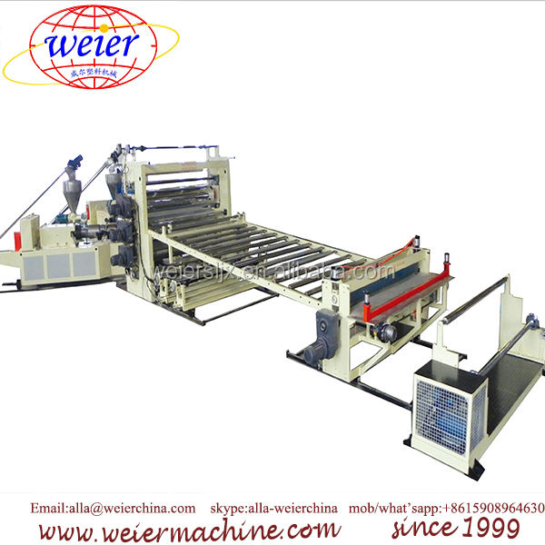 PVC Roll Soft Waterproof Flooring production line laminated with non-woven cloth various shape PVC soft floor making machine