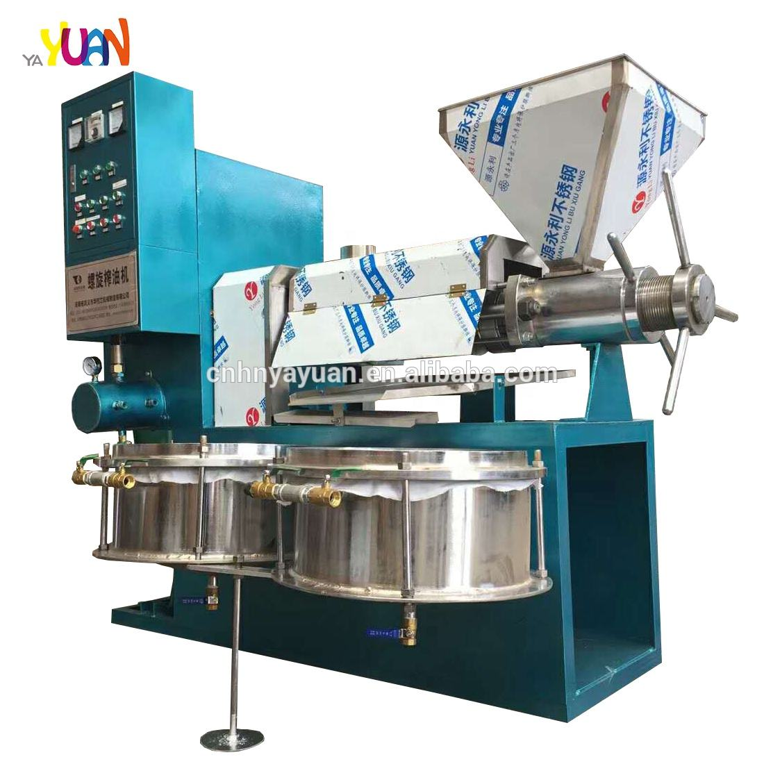 Mustard oil extraction process machine corn oil extraction machine 6YL-125