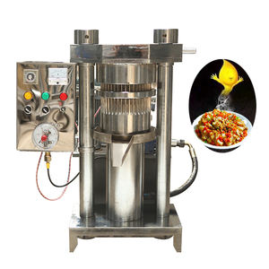 Newest large capacity cold press cocoa butter hydraulic oil presser /hydraulic sesame oil press machine