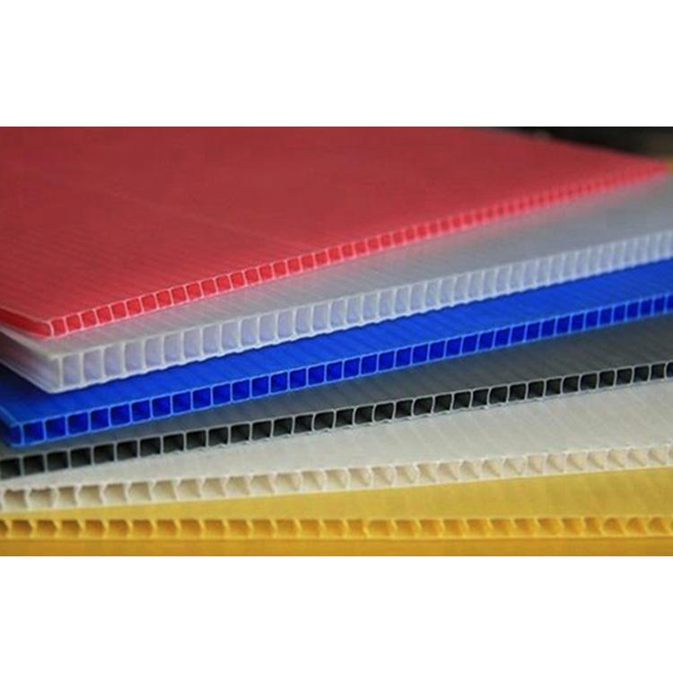 Wholesale Price Stabilized 12Mm Polypropylene Corrugated Plastic Sheet A4 Plastic Sheet Uv Resistant Plastic Sheet