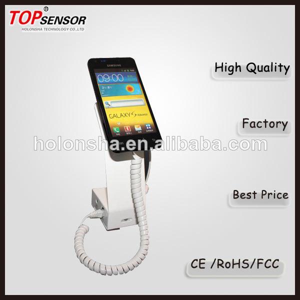 seguridad con soporte de exhibición de <span class=keywords><strong>alarma</strong></span> para el teléfono celular en el supermercado o centro comercial shippong