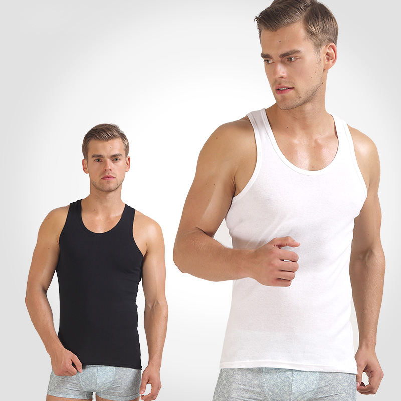 No MOQ Drop shipping Cheap plain bodybuilding vest,custom men singlet, men gym tanktops