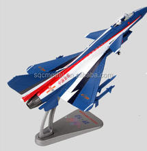 1:72 J-10 fighter jet metal diecast plane model
