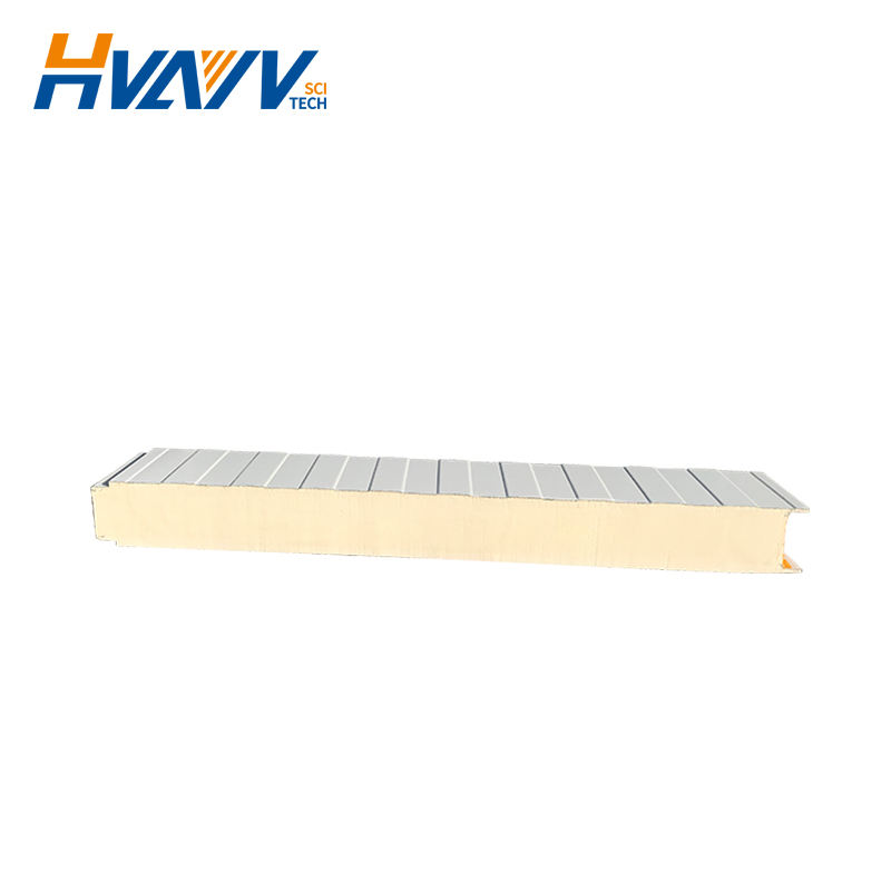 Easy installation polyurethane sandwich thermal insulation board for external wall Cold room roof sandwich panel for wall