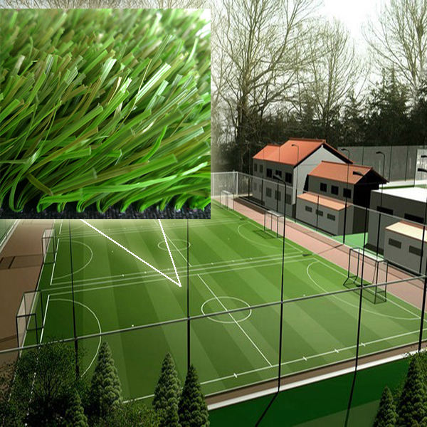 Terrain de Football gazon artificiel pour le Football décoratif Sport simulation herbe