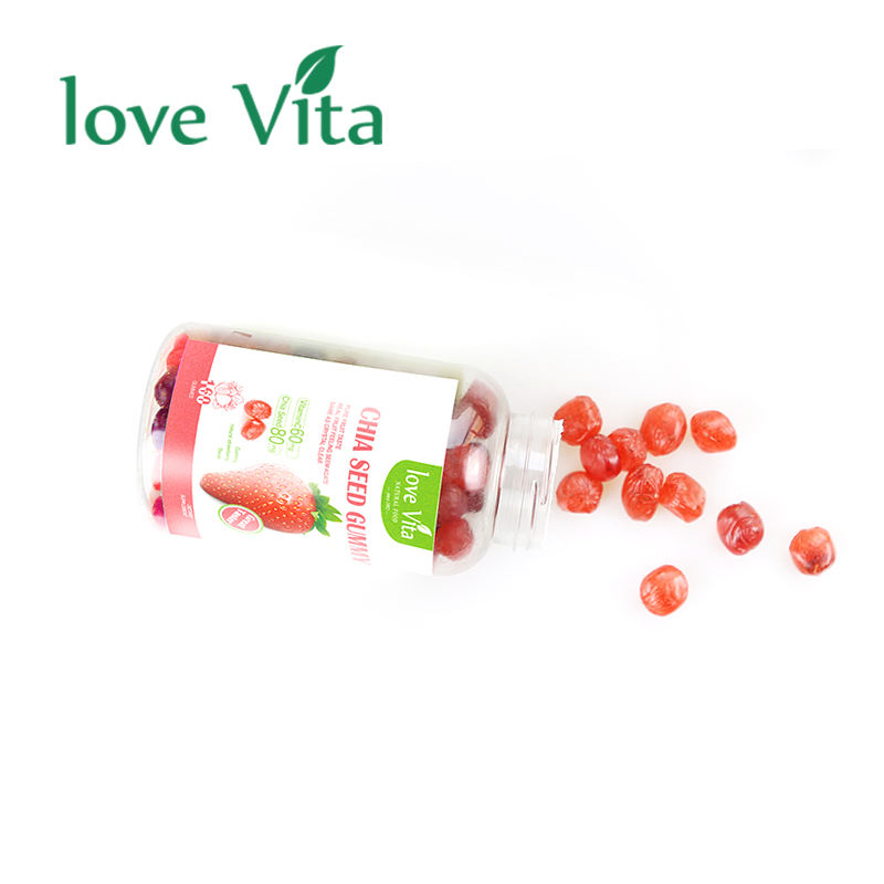 New Design Casings Fruit Juice Strawberry Gummy Gourmet Candy