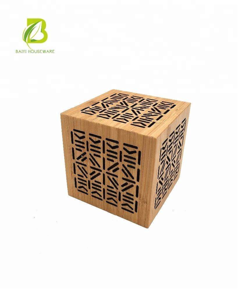 Best selling products Bamboo Room Hollow Carved Design Incense Holder Storage Box Home decor living room Censer