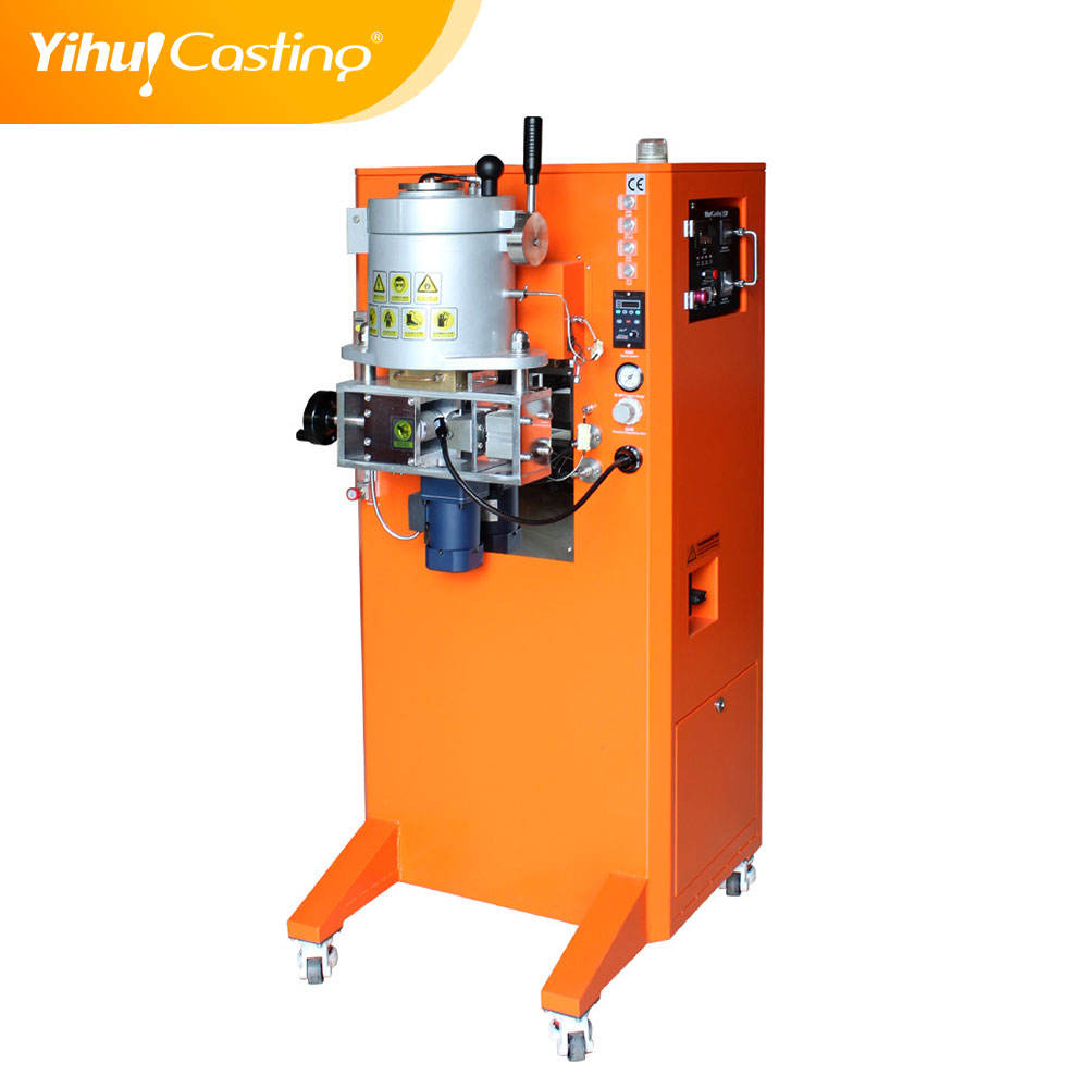 Yihui brand 3kg Continuous casting machine for wire and sheets,jewelry machinery