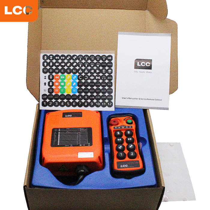Remote Control Manufacturer For Crane Q800 8-point Industrial Radio Wireless And Receiver