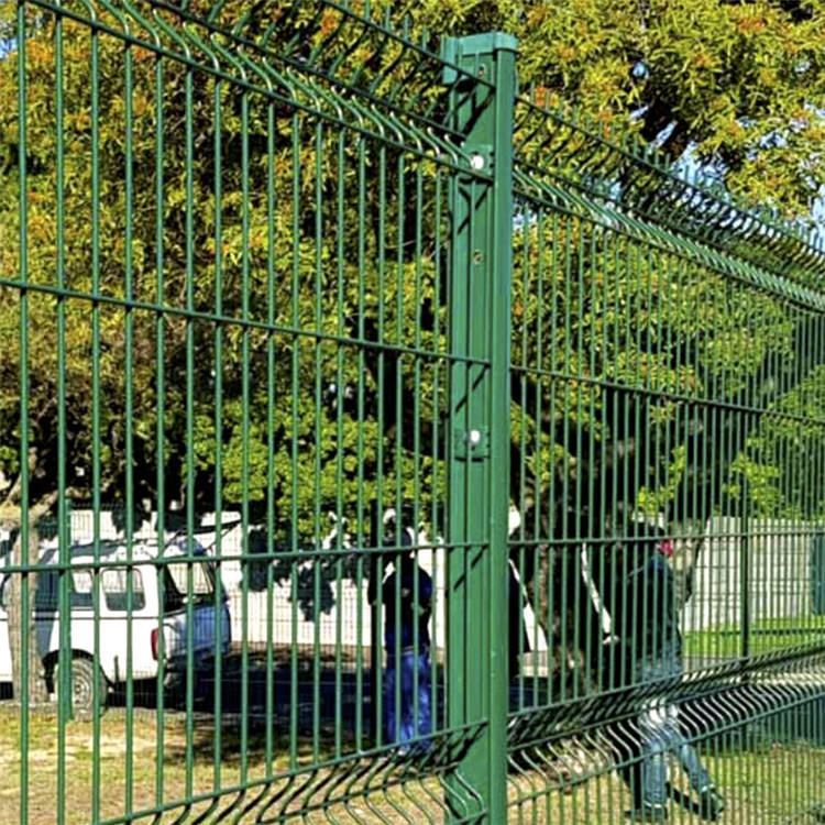 2019 Factory sales green wire mesh fence