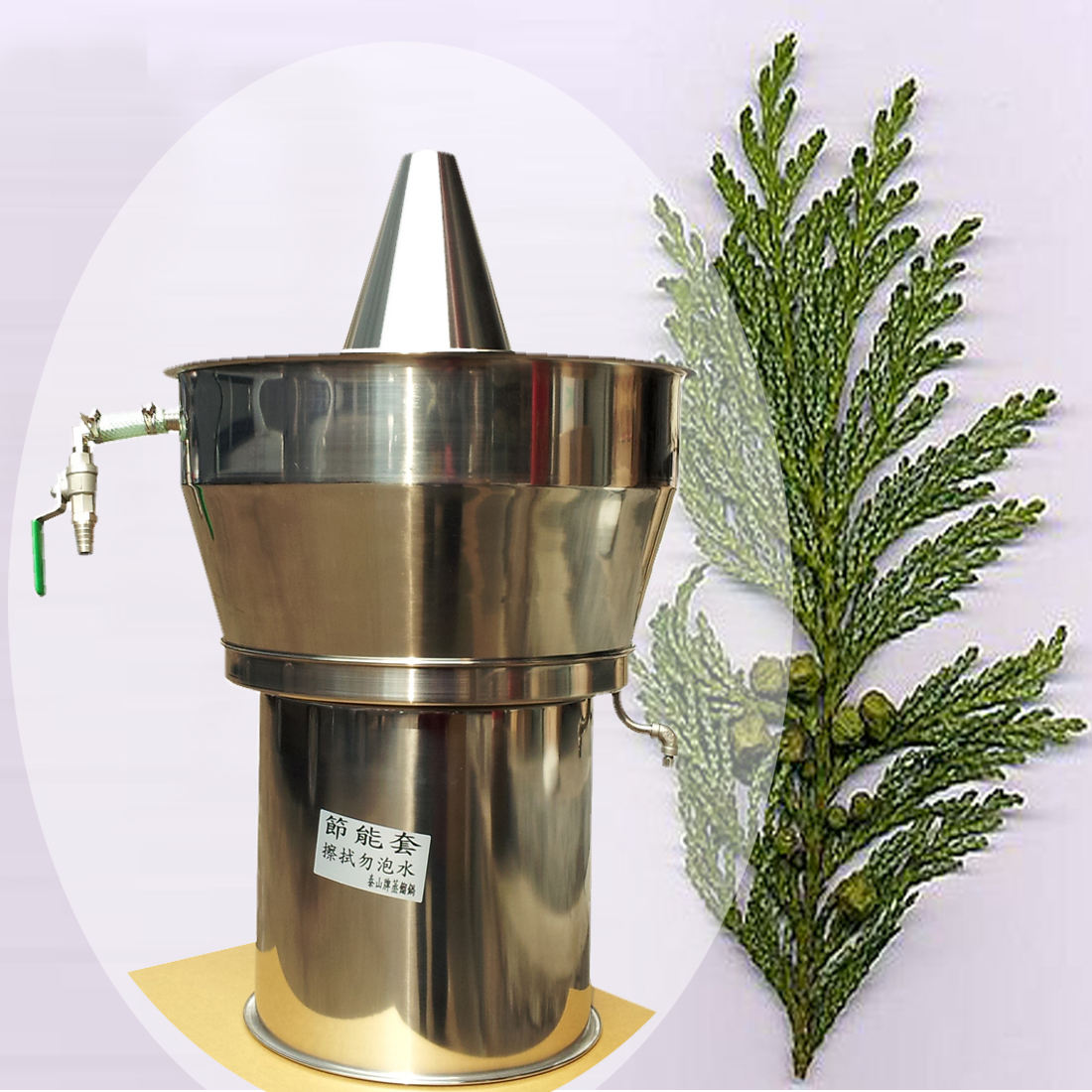10L curry leaves oil extraction equipment from Chinese supplier