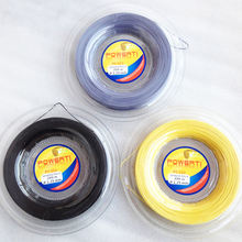 200m Logo Customized Big Banger Concave angle  1.25mm Polyester Alu Power Rought  Tennis String