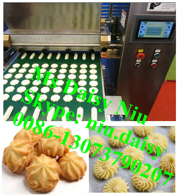 automatic cookies making machine/round cookie maker/cookie bar making machine