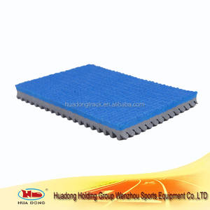 Sports court material rubber mat for sport badminton court flooring