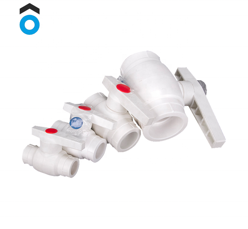 Ppr Pipe Fitting Ppr Radiator Ball Valve