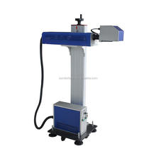 Hot Sale 30W non-metal engraving Co2 Flying Laser Marking Machine