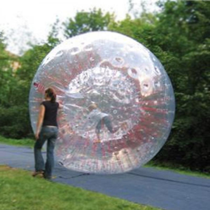 Outdoor Sport Toy Zorb Sphere Kids Size PVC Inflatable Zorb Ball