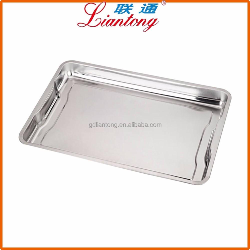 LianTong Marca Aço inoxidável Assadeira Bolinho <span class=keywords><strong>Bakeware</strong></span> Pan Bandeja Conjunto Profissional, não Tóxico & Saudável
