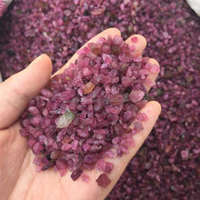 Wholesale Rough Pink Natural Tourmaline Gemstone Uncut Chips Beads Multi Strand