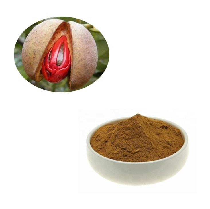 Pure Organic Nutmeg without Shell Dried Powder for Food Additives