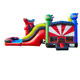 Combo Amusement Park Jumping Toy Castles Inflatable Bouncer with Free Blower / Outdoor Playground Bouncy House Slide Wholesale