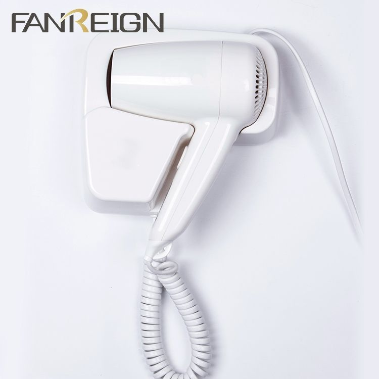 Durable Wall Mounted Hotel Hair Dryer Different Type Factory Price