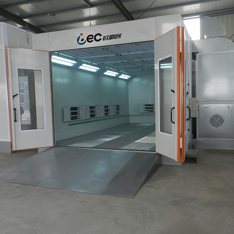 OBC spray booth paint booth/mobile spray booth/used spray booth