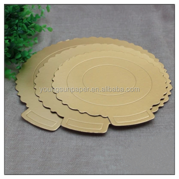 attractive design custom compressed cardboard cake boards