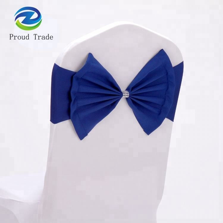 Cheap wholesale fancy spandex chair sashes