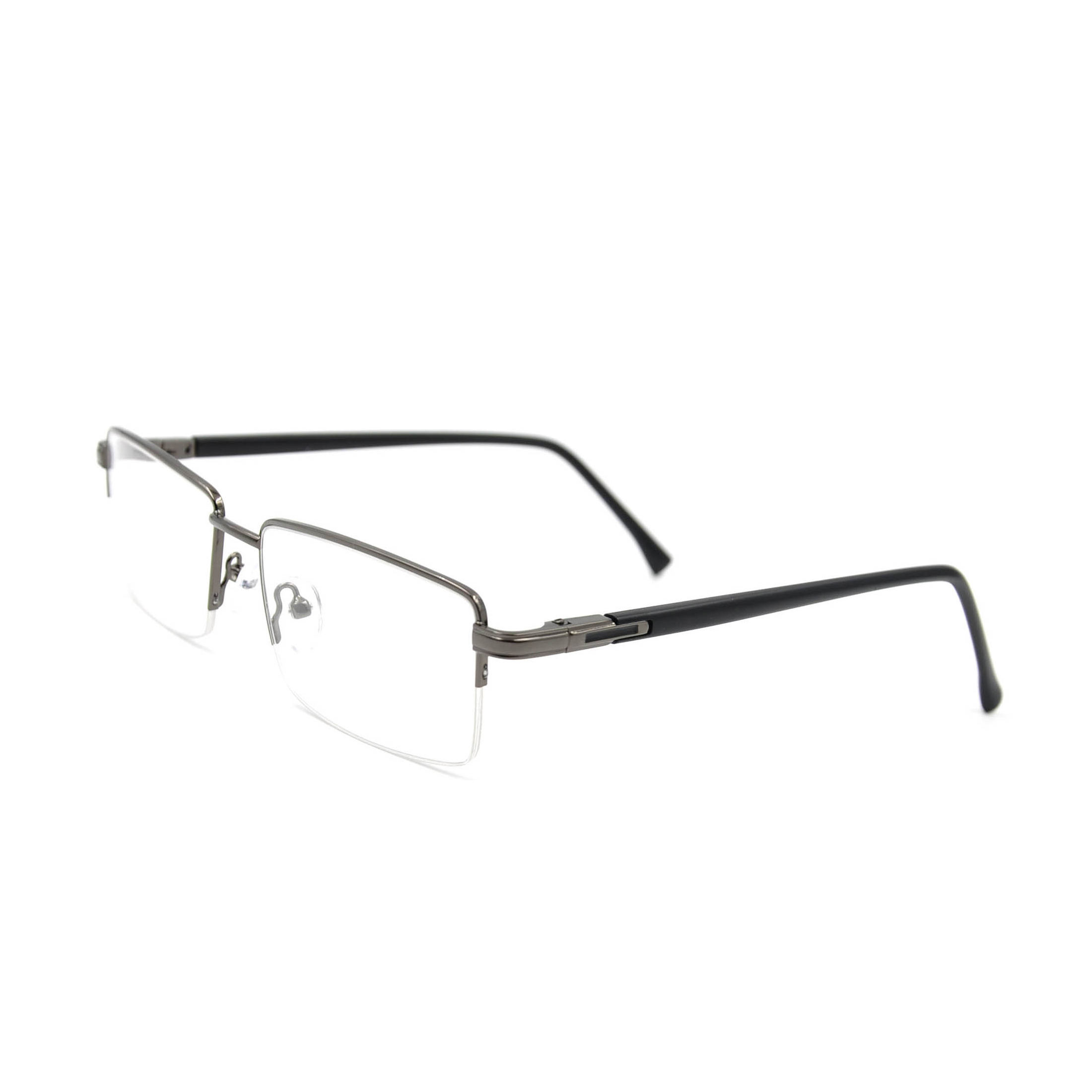 Promotion cheap customized logo metal eyeglasses frames reading glasses for men