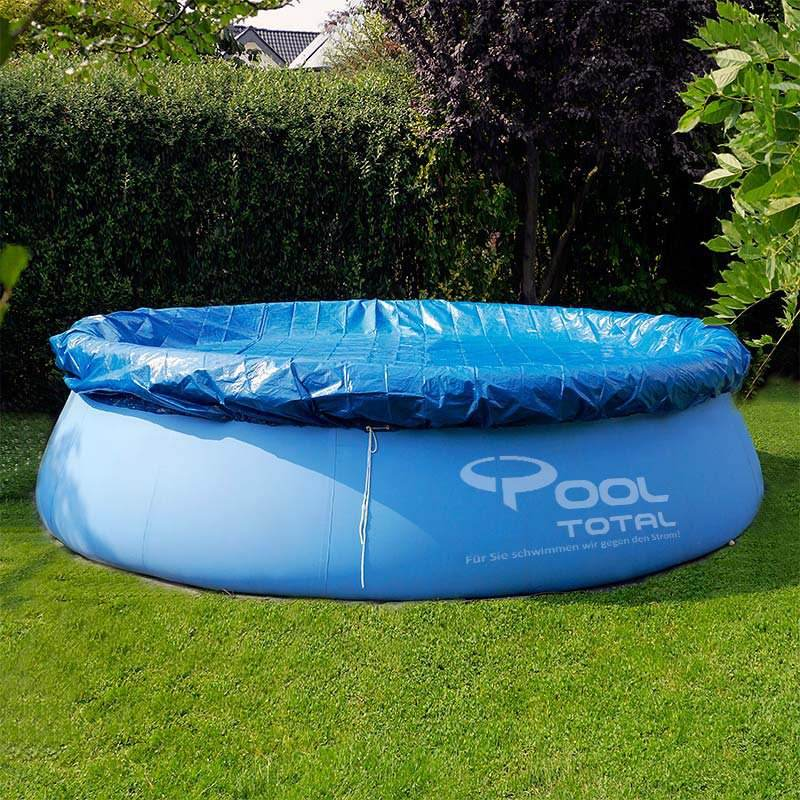 PE inflatable Swimming pool cover