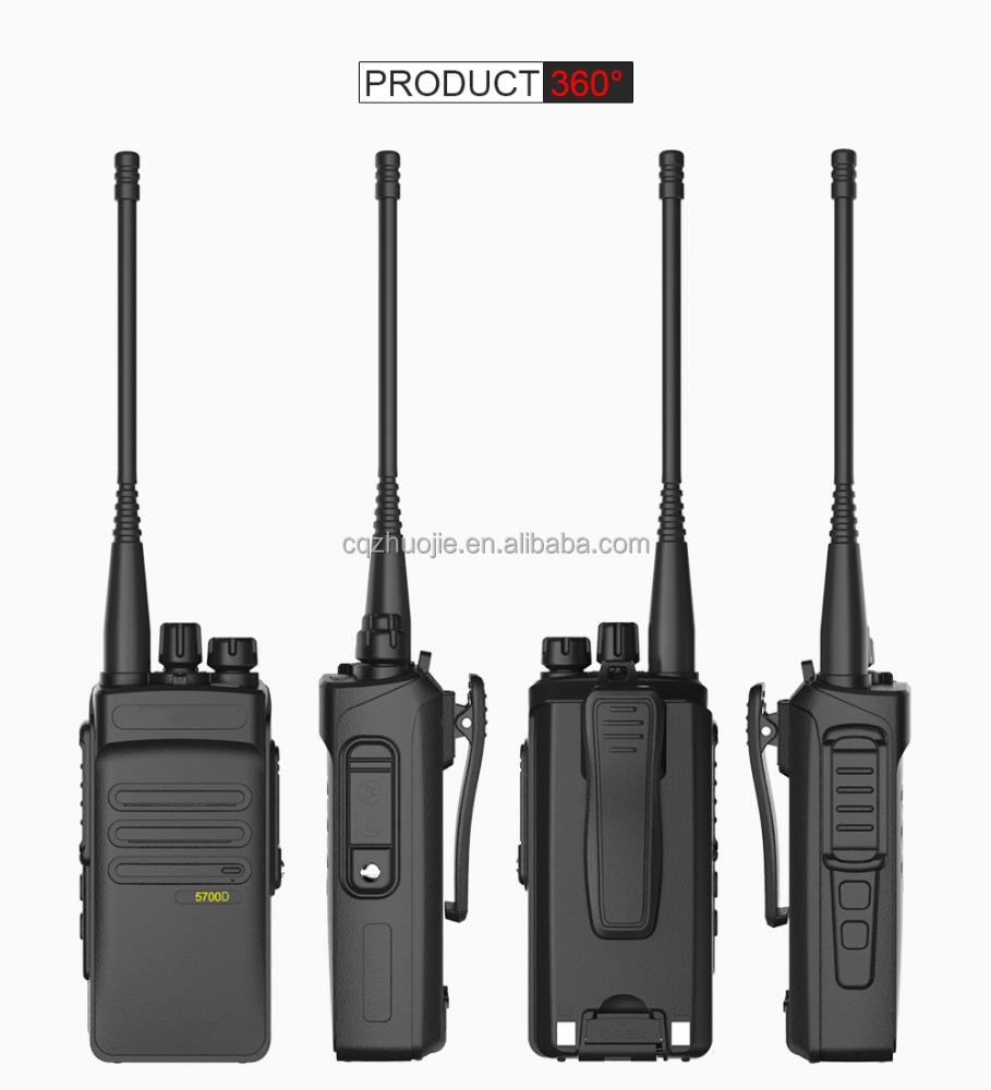 dPMR Digital Two Way Radio 10 mile Transceiver Strong Penetrating Ability Dual Band Radio 5700D