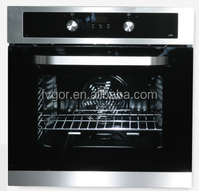 57 linner capacity 9 functions digital electric oven with coolong fan