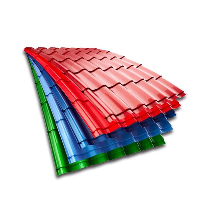 Corrugated Sheet Cheap Metal Roofing Stone Coated Roof Tile