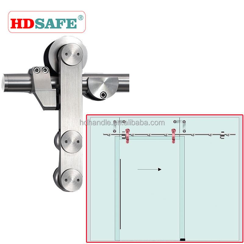 新製品のためにドアのローラーをスライドステンレス鋼インテリアガラススライディングドア