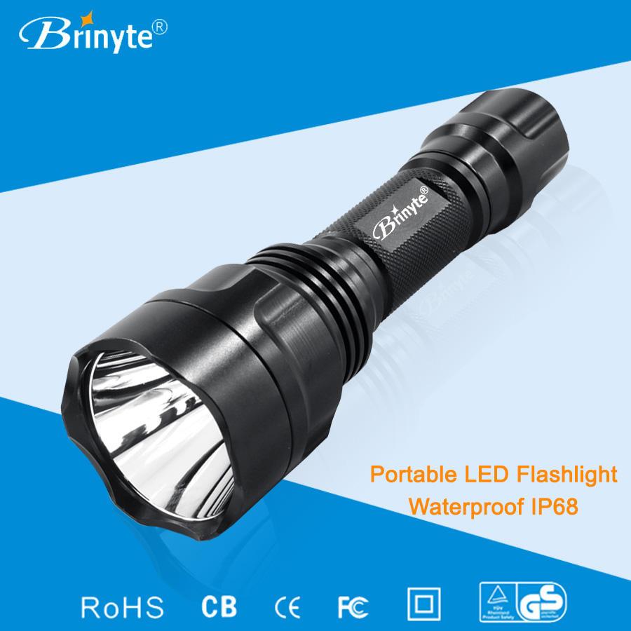 Brinyte b88 populares XM-L2 aluminio <span class=keywords><strong>LED</strong></span> <span class=keywords><strong>recargable</strong></span> de la antorcha