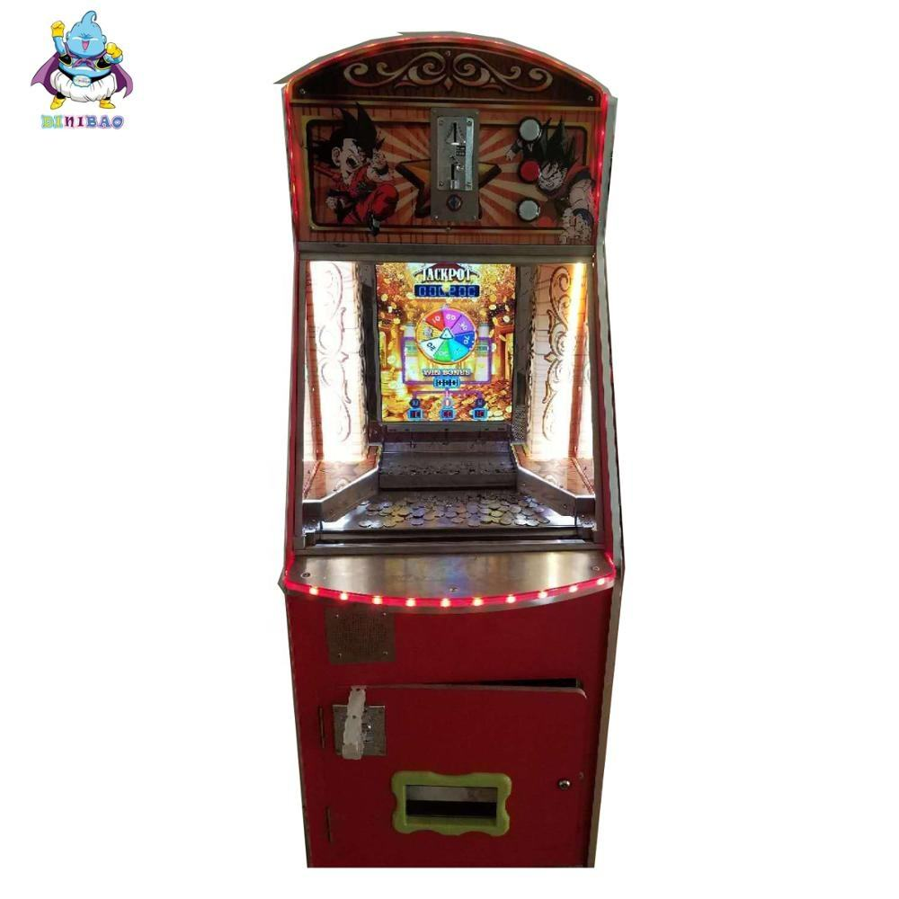 Arcade Goud Fort Spel Ticket Verlossing Games Coin Pusher Machine Voor Verkoop