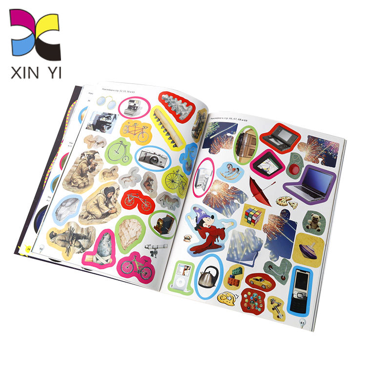 OEM Customized High Quality Full Color Printing Child Sticker Book
