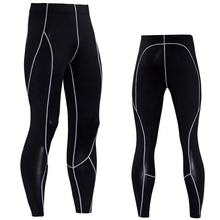 UV protection fabric high elastic compression pants customized black sports leggings